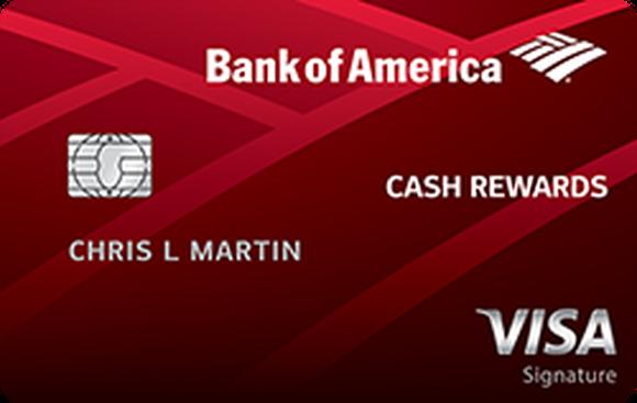 Bank of American Cash Rewards