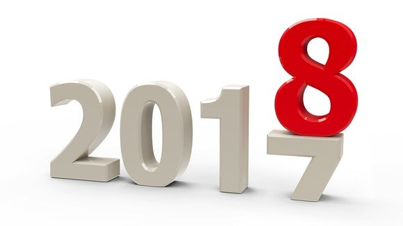 2017 with red 8 on top of the 7