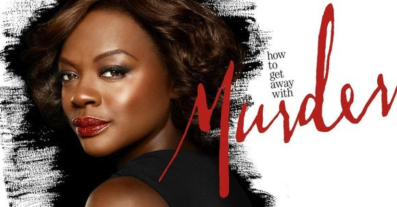 "Viola Davis in a ""How to Get Away With Murder"" cover art."