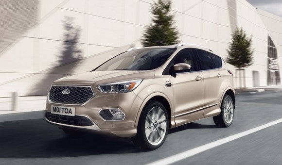 2017 Ford Kuga Vignale as sold in Europe.