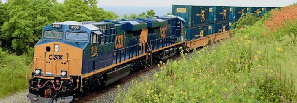 A CSX train