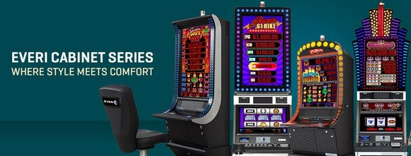 Gaming cabinets from Everi.