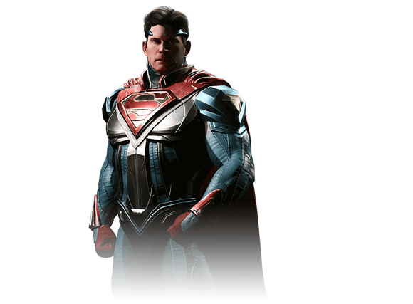 "Superman from Time Warner's ""Injustice 2""."