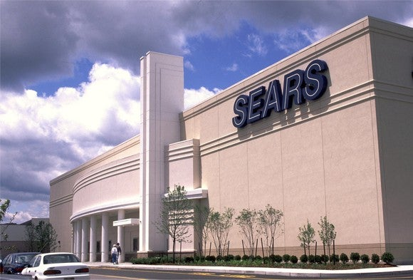 A Sears store.