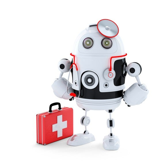 A robot medic