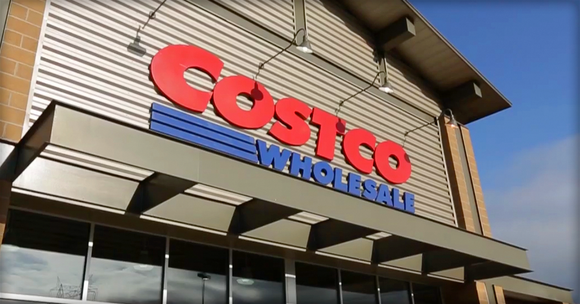 A Costco Wholesale storefront