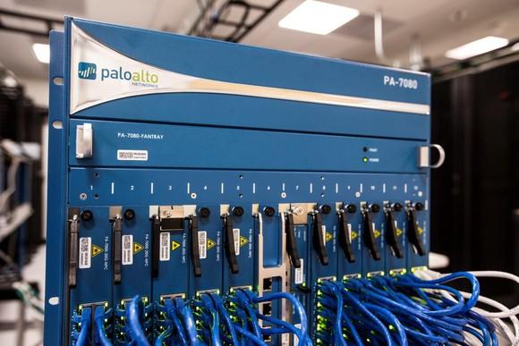The PA-7080 firewall.