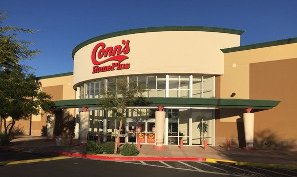 Conn's storefront