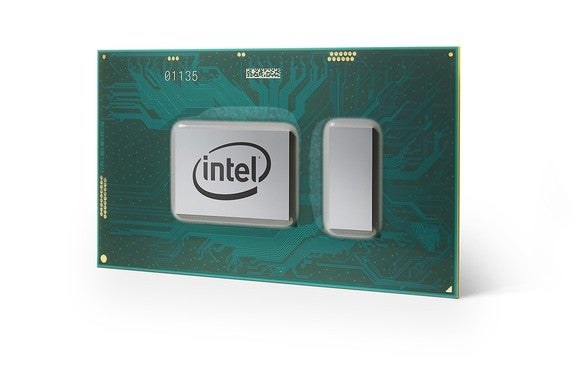An Intel Core processor.