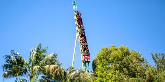 Montezooma's Revenge coaster at Knott's Berry Farm