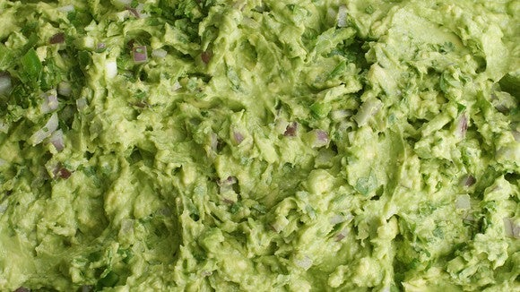 Guacamole from Chipotle Mexican Grill.