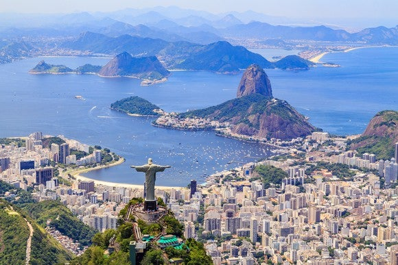Rio de Janeiro from the air