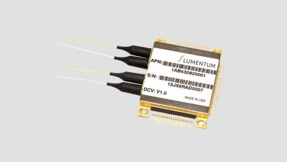 A Lumentum chip.