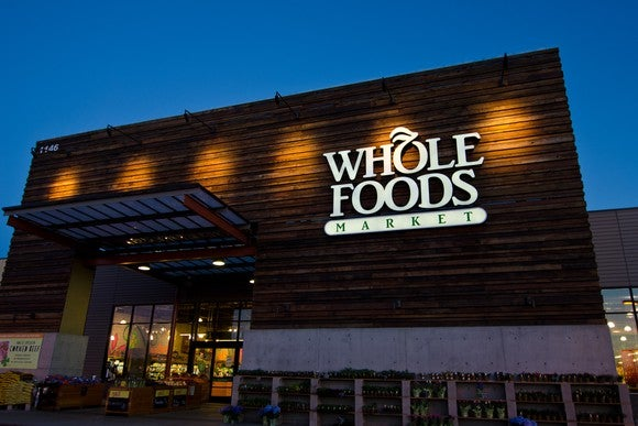 The facade of Whole Foods in San Jose
