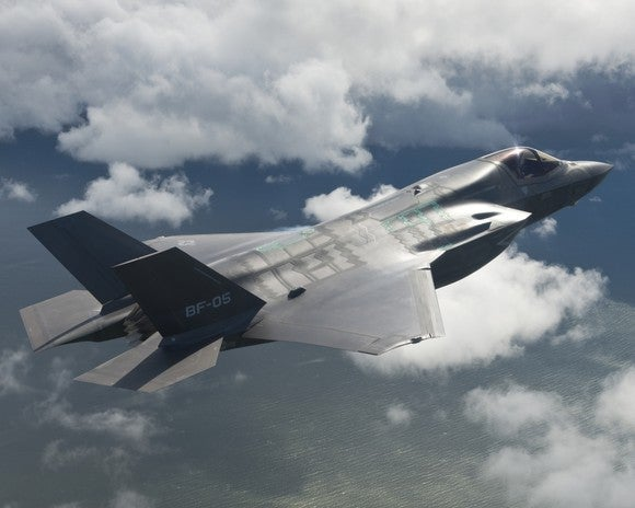 Lockheed Martin F-35 Lightning II fighter jet