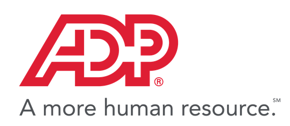ADP logo and slogan.