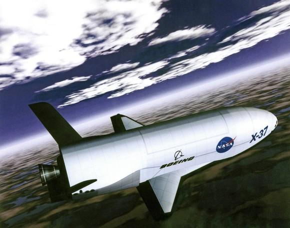 X-37B drone space shuttle