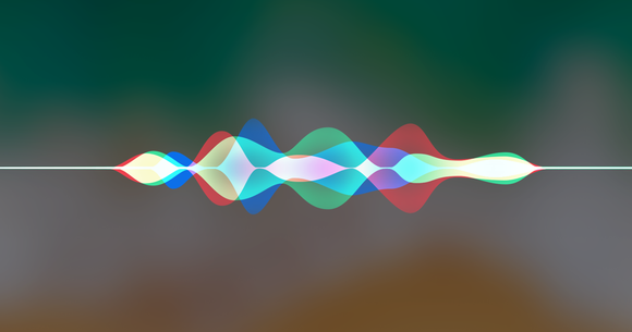 Siri sound-wave graphic