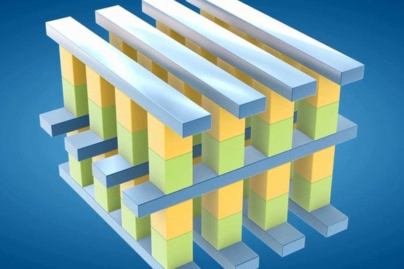 Intel's 3D XPoint structure.