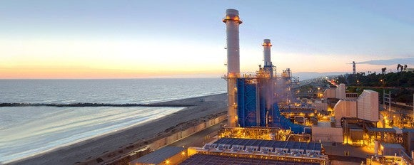 El Segundo gas power plant.