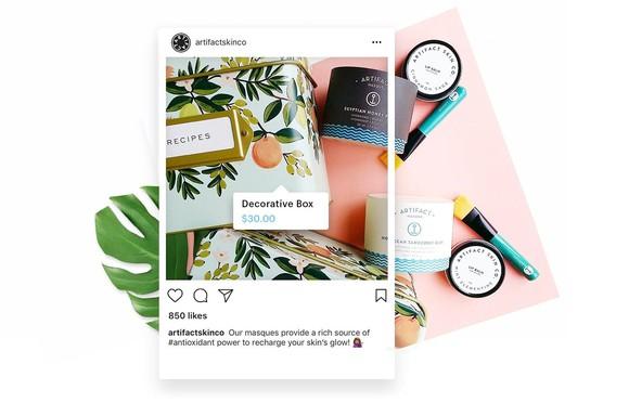 Instagram product ad