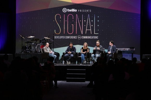A stage shot during last year's Signal developer conference.