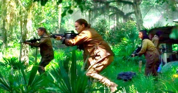 "Natalie Portman in ""Annihilation."""
