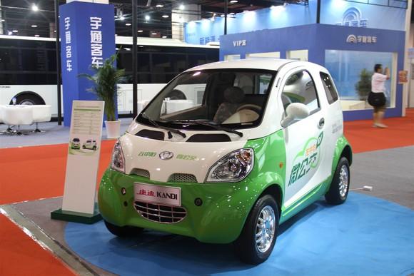 A Kandi car on display at a car show.