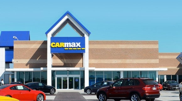CarMax used car lot
