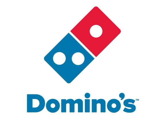 Domino's logo.