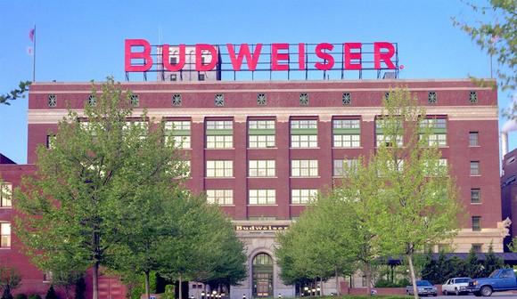 Anheuser-Busch InBev Budweiser brewery