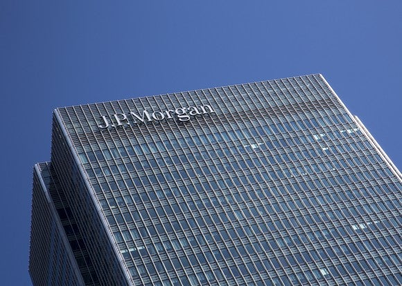 The London offices of JPMorgan Chase.