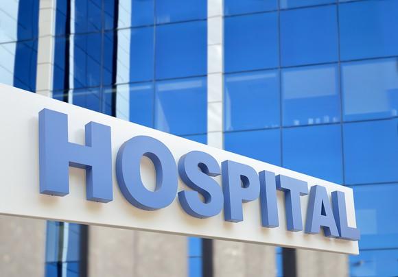 exterior of hospital