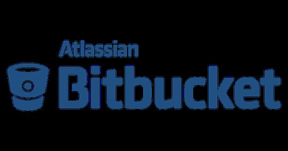 Logo for Atlassian product Bitbucket.