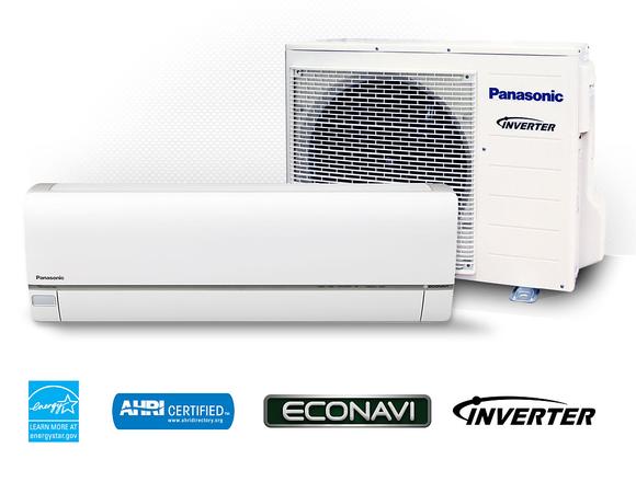 HVAC air circulation equipment, including a fan and an air processing unit.
