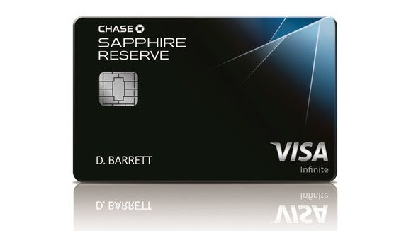 image of the chase sapphire reserve card - dark, with some shading suggesting facets of a gem