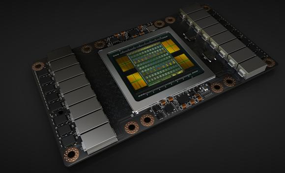 The NVIDIA Volta GPU.
