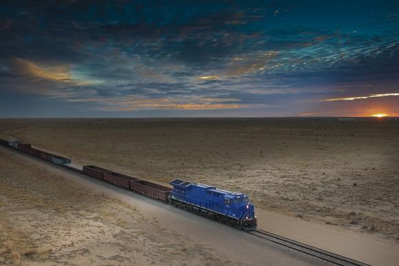 a GE tier 4 locomotive