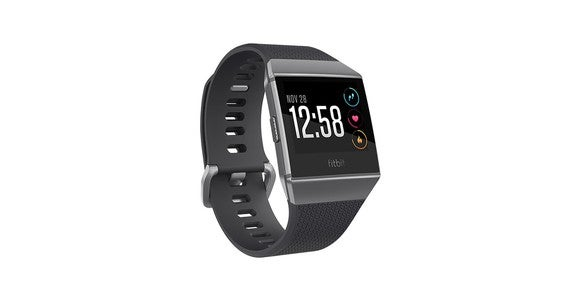 The Fitbit Ionic smartwatch.