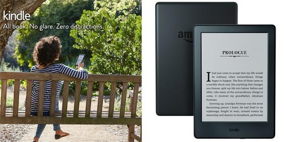 Amazon's basic Kindle e-reader.