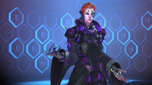 Moira, the new character for Activision Blizzard's Overwatch.