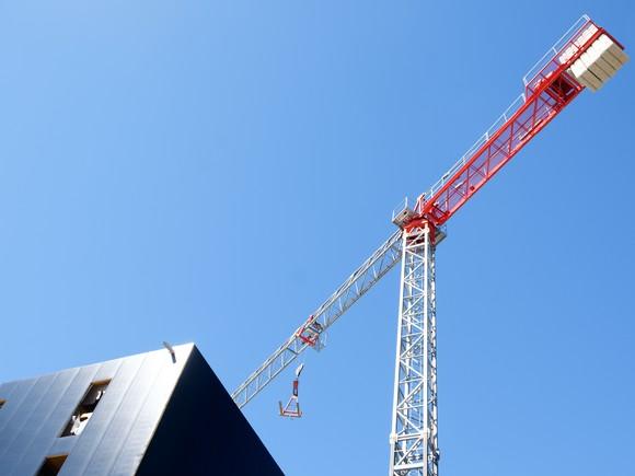 A crane.