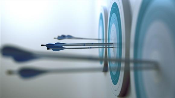 Arrows hitting multiple targets