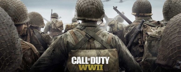 A group of soldiers from Activision Blizzard's Call of Duty World War II
