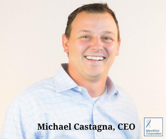 MannKind CEO Michael Castagna