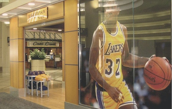 Magic Johnson Sports store in Los Angeles International Airport