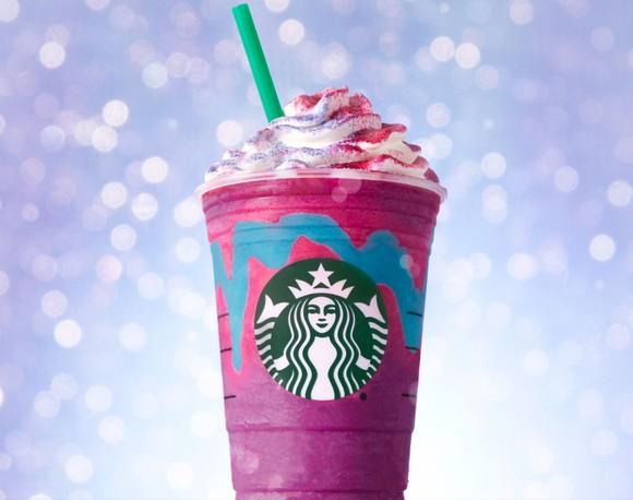 Starbucks Unicorn Frappuccino.