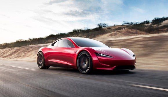 Tesla's new Roadster