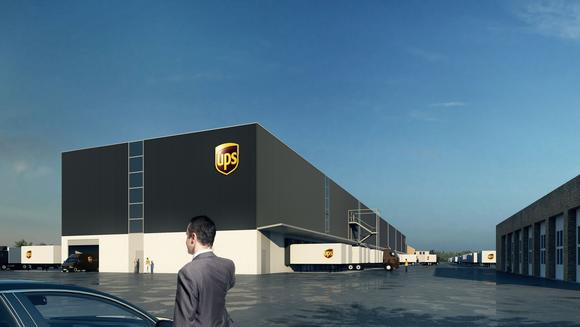A UPS facility