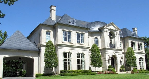 a mansion - a very expensive house